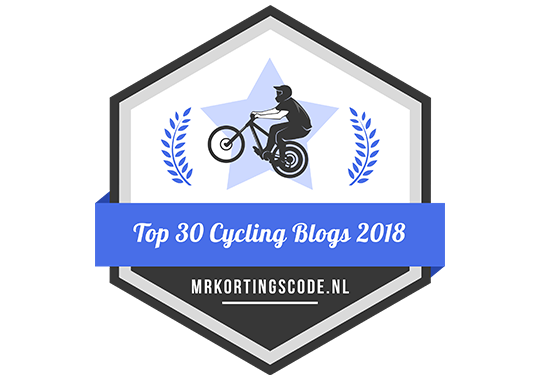 Banners for Top 30 Cycling Blogs 2018
