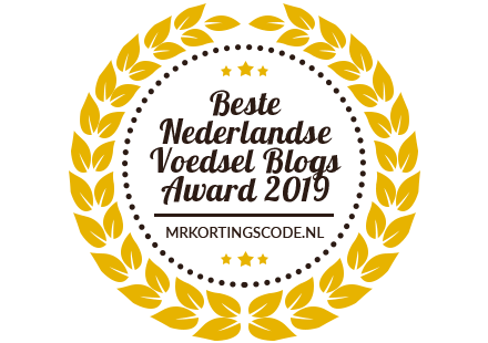 Banners for Beste Nederlandse Voedsel Blogs Award 2019
